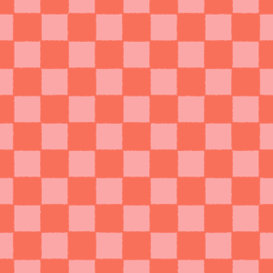 赤の市松模様のフリーイラスト Clip art of red ichimatsu-moyou pattern