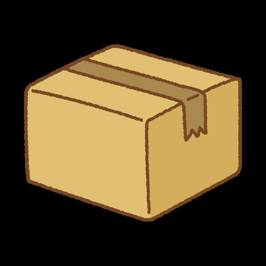 ダンボール箱のイラスト