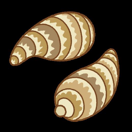 海老芋のイラスト