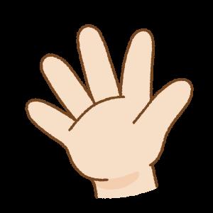 じゃんけんのフリーイラスト Clip art of rock paper scissors