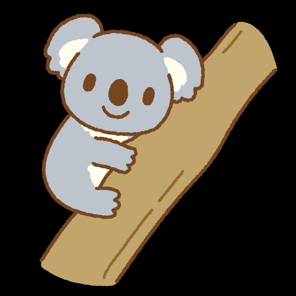 コアラのフリーイラスト Clip art of koala