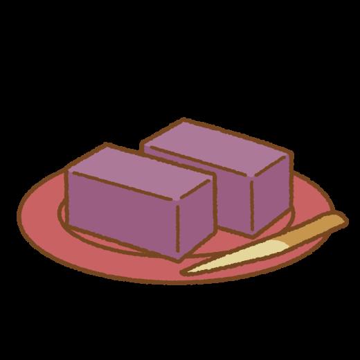 羊羹のイラスト