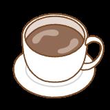 コーヒーのフリーイラスト Clip art of coffee