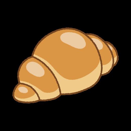 ロールパンのイラスト