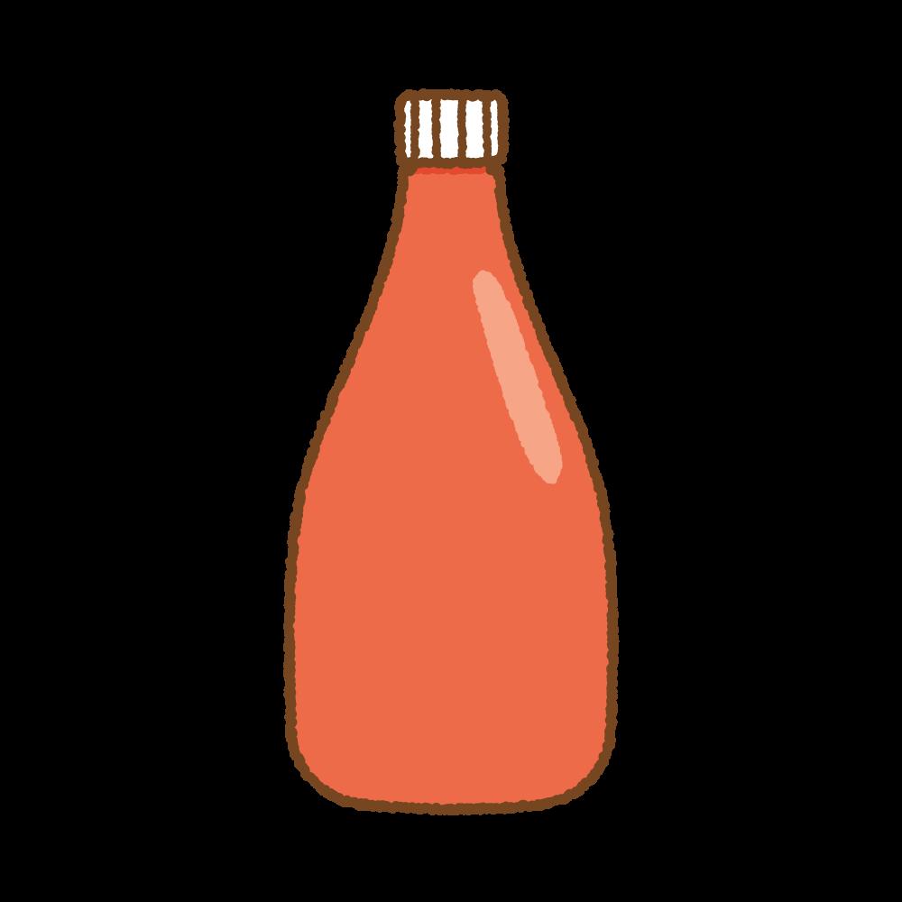 ケチャップのフリーイラスト Clip art of ketcup