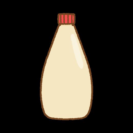マヨネーズのイラスト