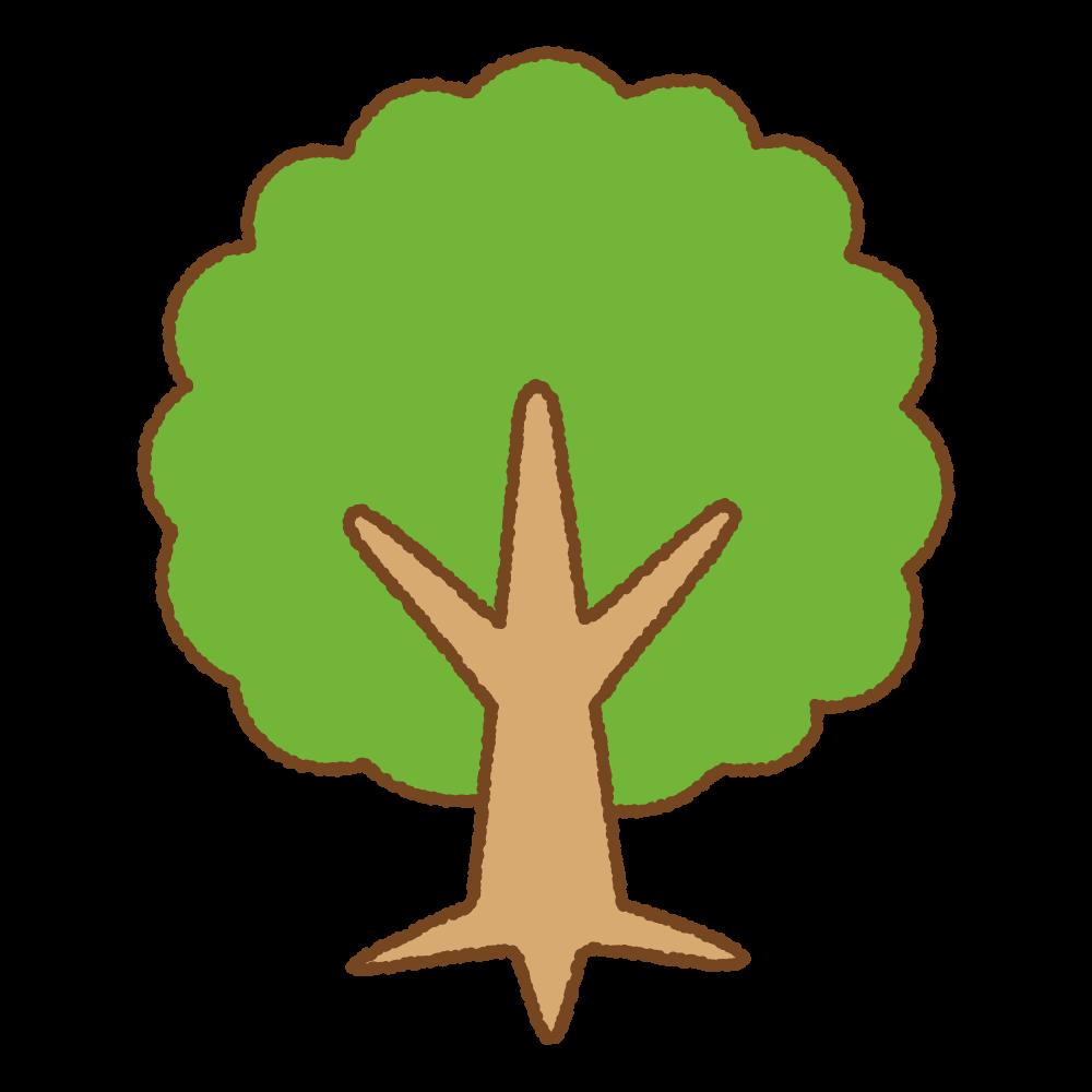 木のフリーイラスト Clip art of treee