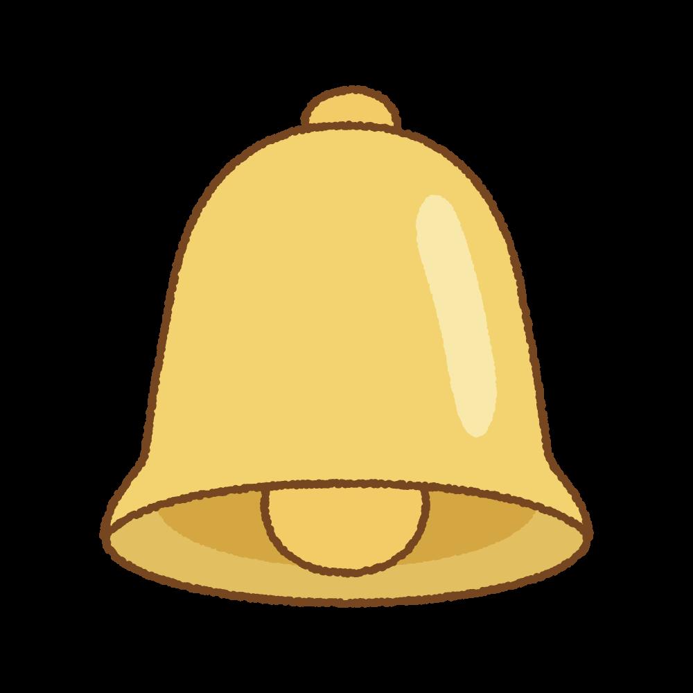 ベルのフリーイラスト Clip art of bell