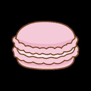 マカロンのフリーイラスト Clip art of macaron