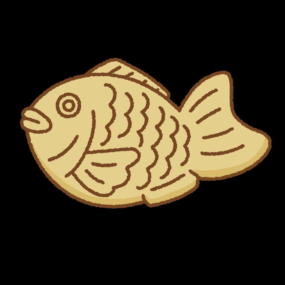 たい焼きのフリーイラスト Clip art of taiyaki