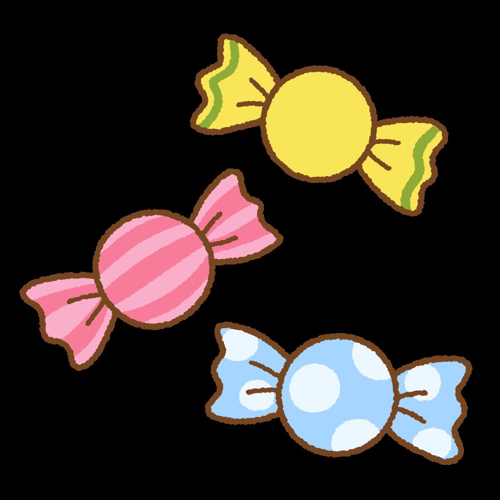 飴のフリーイラスト Clip art of candy