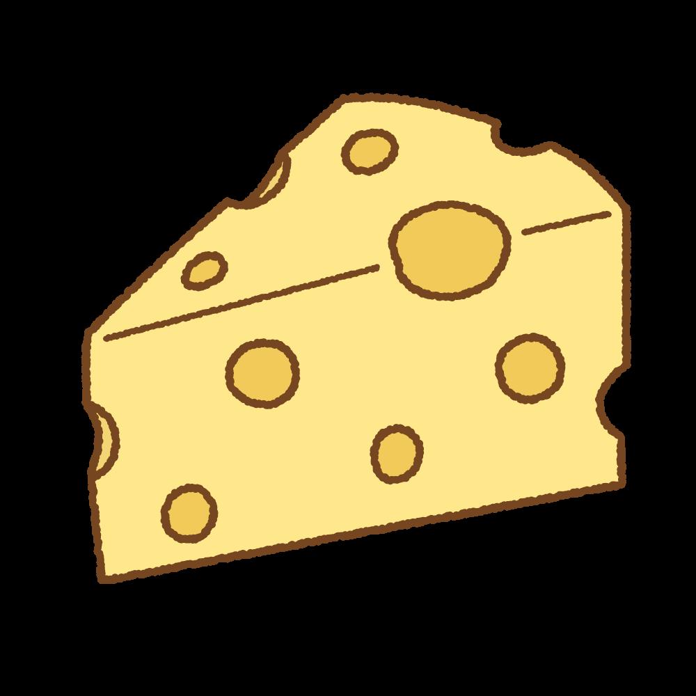 チーズのフリーイラスト Clip art pf cheese