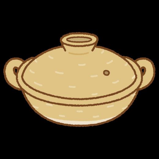 土鍋のイラスト