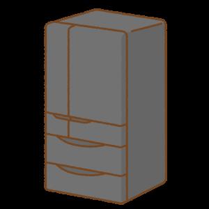 冷蔵庫のフリーイラスト Clip art of refrigerator