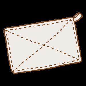 雑巾のフリーイラスト Clip art of zoukin