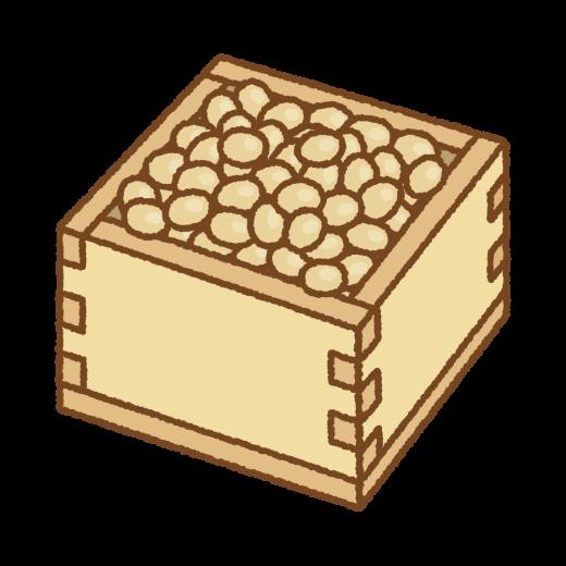 福豆のイラスト