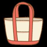 トートバッグのイラスト