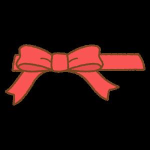 リボンのフリーイラスト Clip art of ribbon