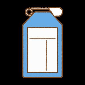 青い名札のフリーイラスト Clip art of blue name-tag