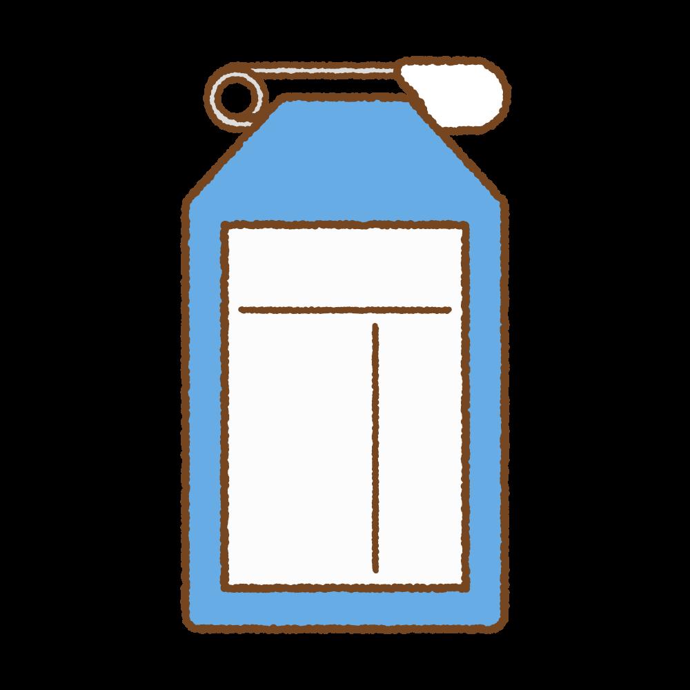 青い名札のフリーイラスト Clip art of blue name tag