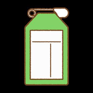 緑の名札のフリーイラスト Clip art of green name-tag