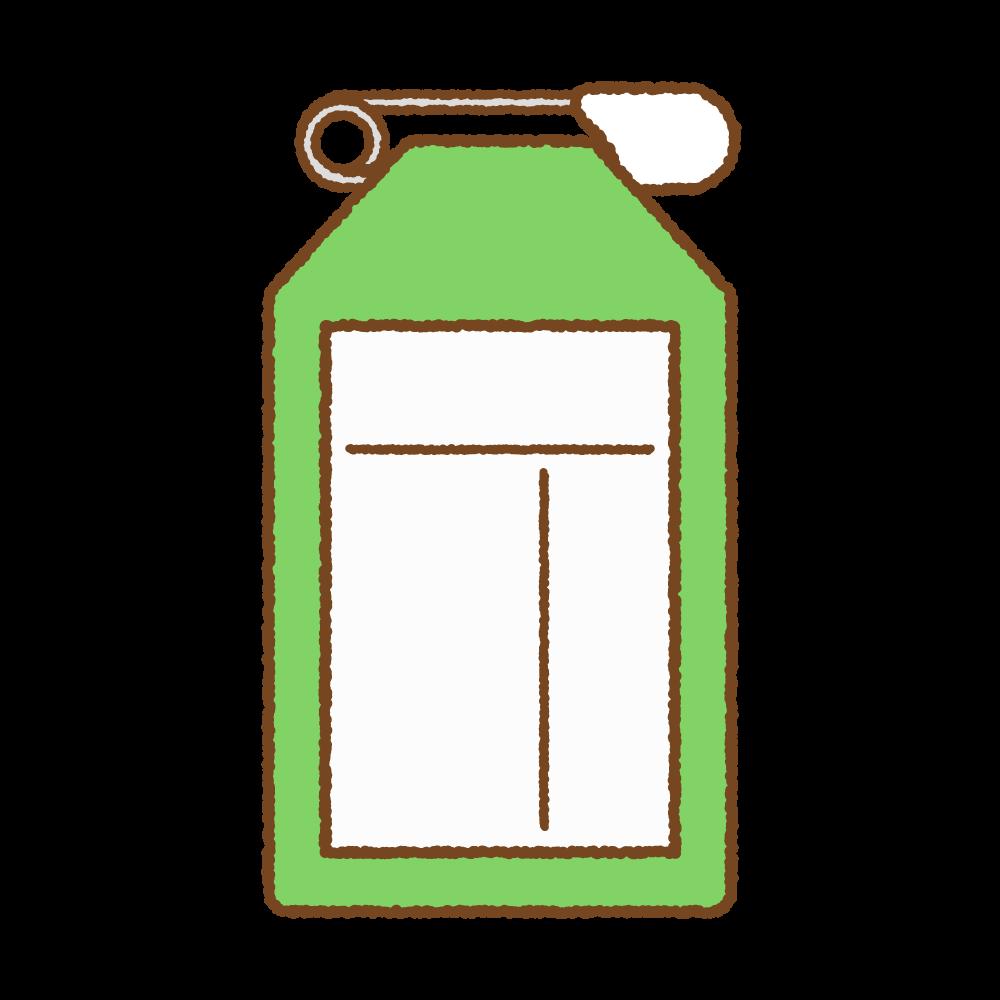 緑の名札のフリーイラスト Clip art of green name tag