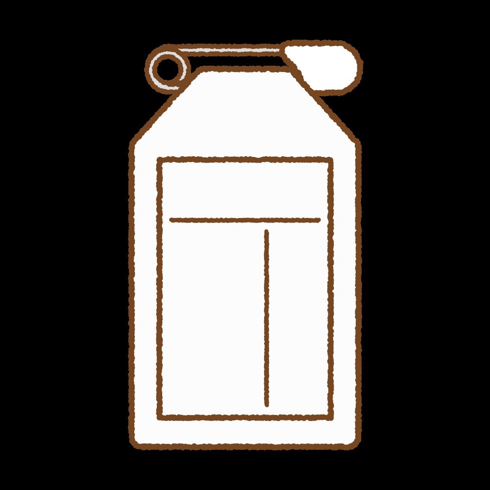 白い名札のフリーイラスト Clip art of white name tag