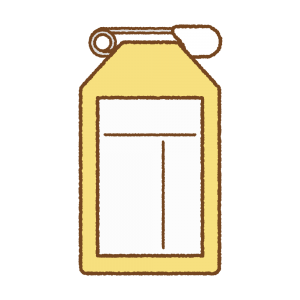 黄色い名札のフリーイラスト Clip art of yellow name-tag