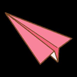 紙飛行機のフリーイラスト Clip art of paper-plane
