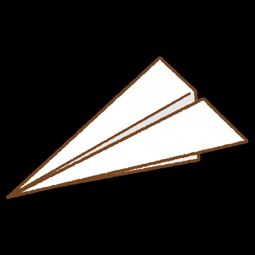 紙飛行機のフリーイラスト Clip art of paper plane