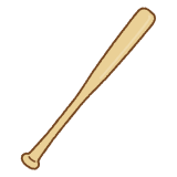 baseball wooden bat