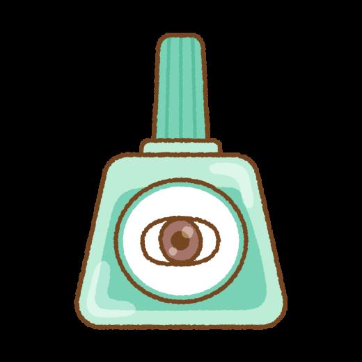 目薬のイラスト