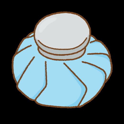 氷嚢のイラスト