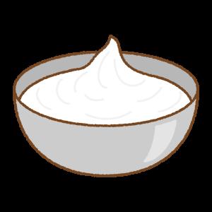 メレンゲのフリーイラスト Clip art og meringue