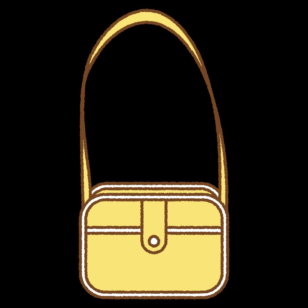 通園カバンのフリーイラスト Clip art of kindergarten bag
