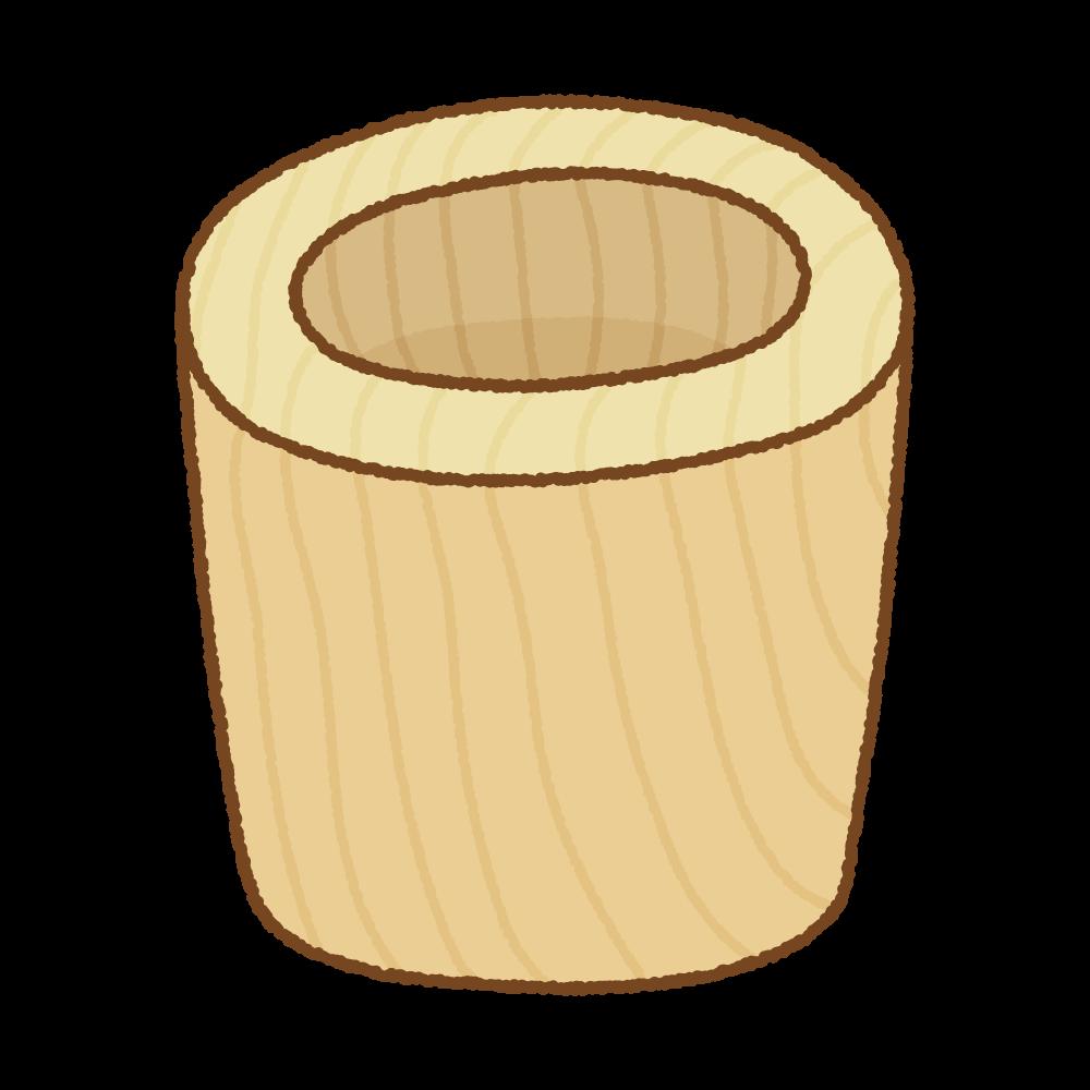 臼のフリーイラスト Clip art of usu
