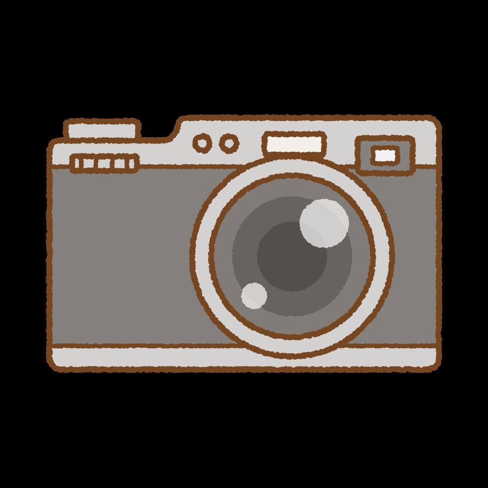 カメラのフリーイラスト Clip art of camera