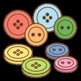 ボタンのフリーイラスト Clip art of button
