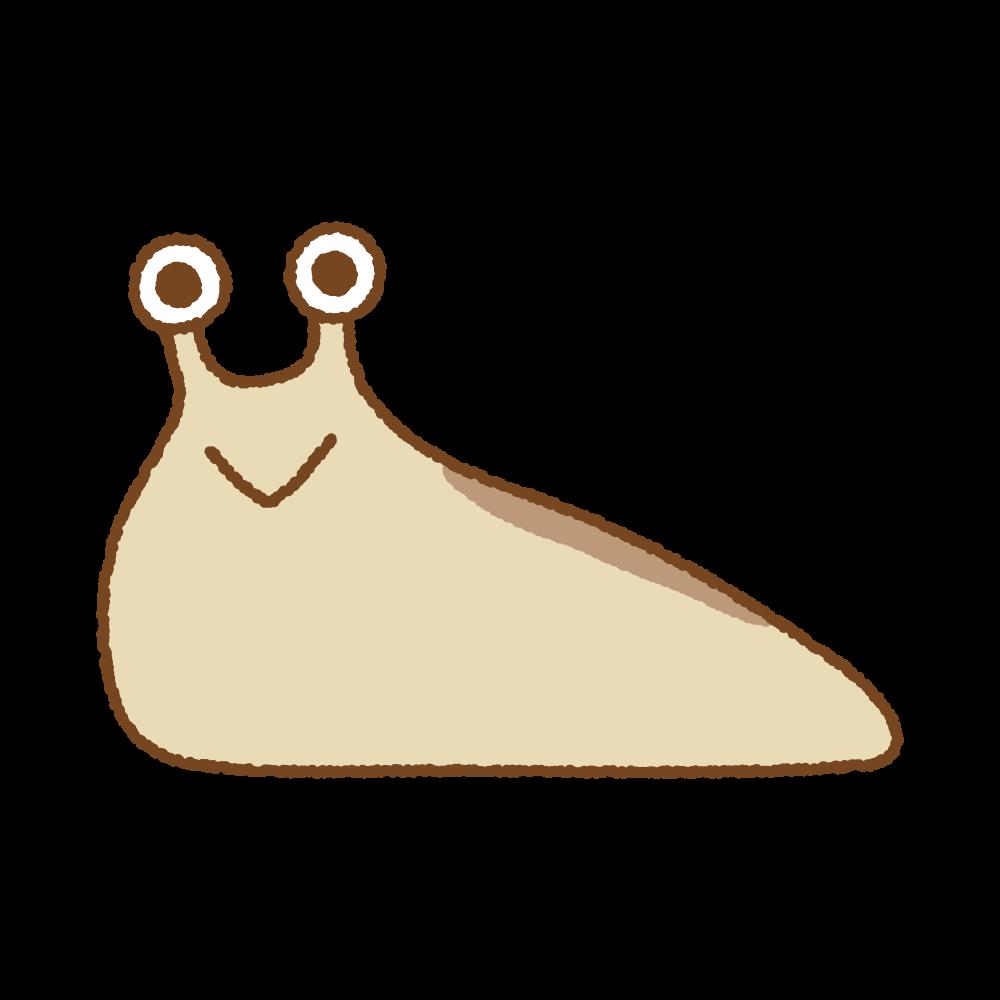ナメクジのフリーイラスト Clip art of slug