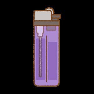 ライターのフリーイラスト Clip art of lighter