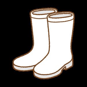 長靴のフリーイラスト Clip art of rainboots