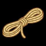 ロープのフリーイラスト Clip art of rope