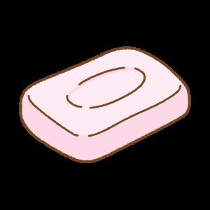 石鹸のフリーイラスト Clip art of soap