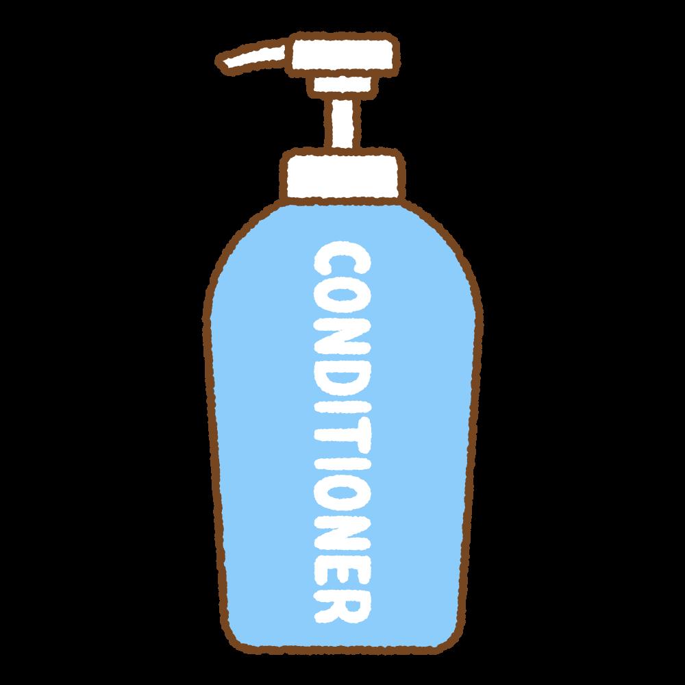コンディショナーのフリーイラスト Clip art of conditioner