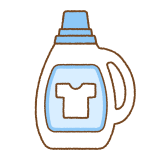 洗濯用液体洗剤のイラスト