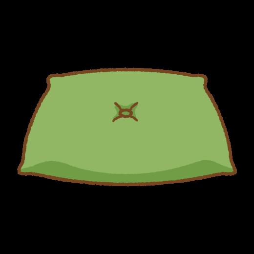 座布団のイラスト