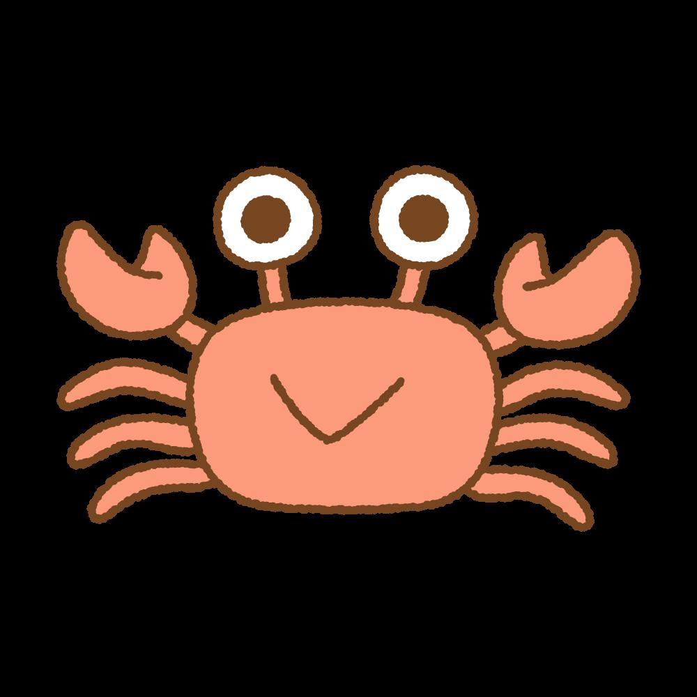 カニのフリーイラスト Clip art of crab