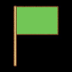 旗のフリーイラスト Clip art of flag