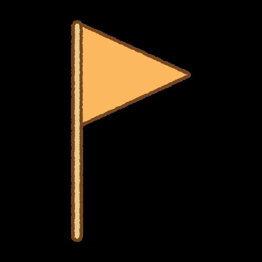 旗のイラスト