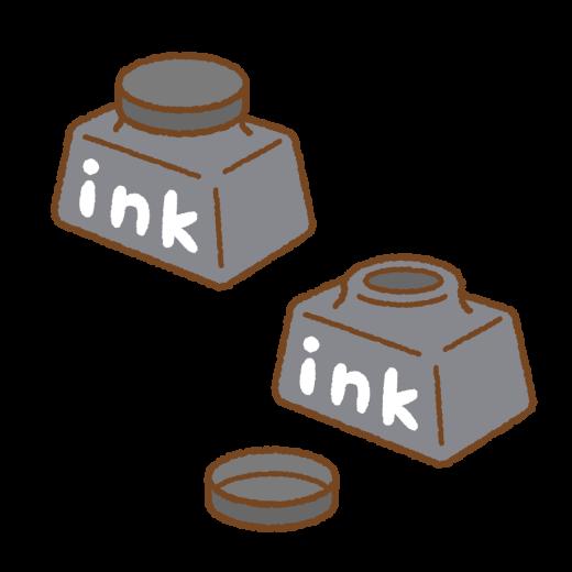 インクのイラスト